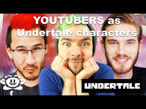 UNDERTALE | YOUTUBERS AS UNDERTALE CHARACTERS  - VOICE ACTING #1