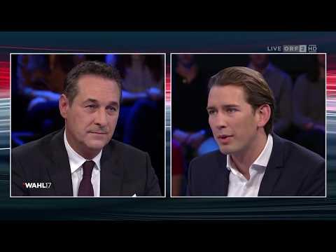 Konfrontation ÖVP - FPÖ | Wahl 17