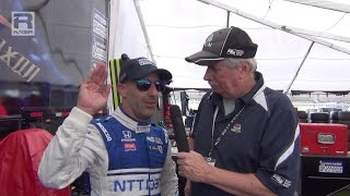 IndyCar: Tony Kanaan on Fernando Alonso at the Indy 500