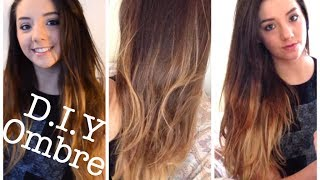 DIY ombre at home - Dip Dye tutorial and demo | ThoseRosieDays