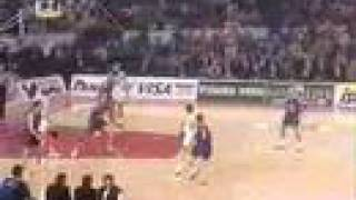olympiakos vs barcelona 73-58 1997 euroleague final
