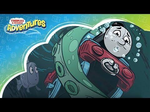 Kereta Thomas & Friends Indonesia: Thomas Adventures - Serangan Monster Laut