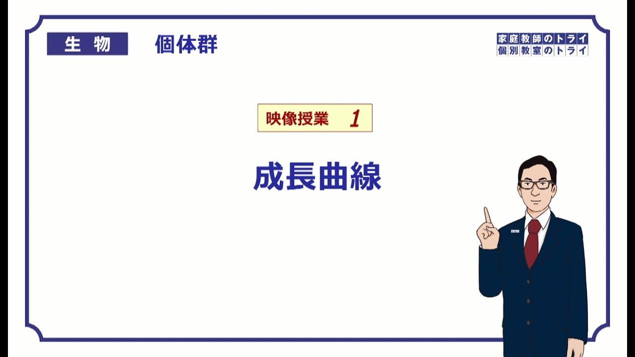 高校生物】 個体群1 成長曲線(1...