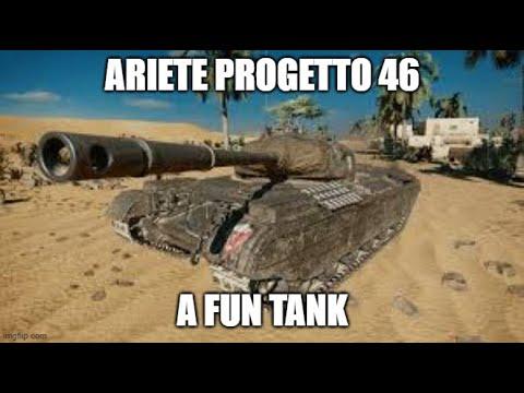 Ariete Progetto 46 A Fun Tank Ll Wot Console