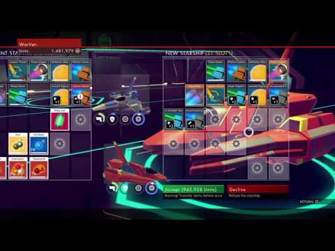 FIRST MILLION CREDIT SHIP -No Mans Sky Ps4-