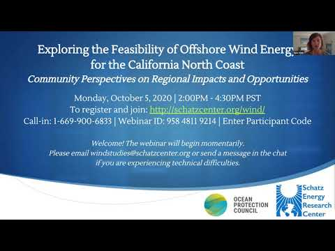CA north coast offshore wind feasibility: Community Perspectives on Regional Impacts & Opportunities