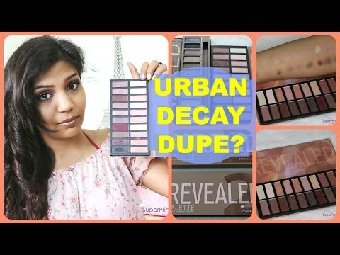 Urban Decay Naked Palette DUPE | Revealed 2 Coastal Scents Palette | SuperPrincessjo from YouTube · Duration:  4 minutes 29 seconds