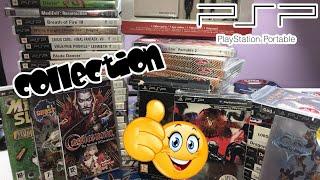 PRESENTATION COLLECTION JEUX VIDEO RETRO CONSOLE SONY PSP  CETTE CONSOLE EST GENIALE