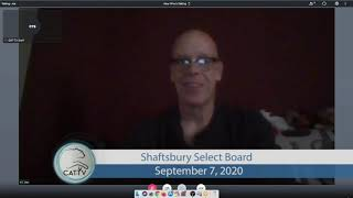 Shaftsbury Select Board // 09/07/20