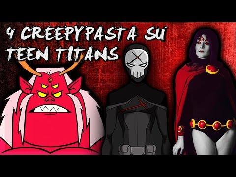 4 Creepypasta che forse non sai su TEEN TITANS 🎃 CreepyCartoonShow