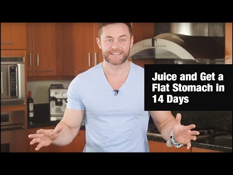 how to get a flat stomach in two weeks