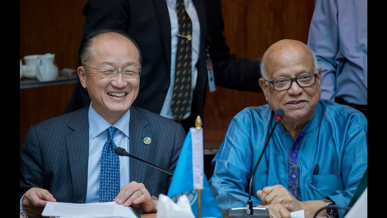 On Day to End Poverty, Jim Kim Cites Bangladesh Successes