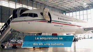 Se trata del avión adquirido por el expresidente Miguel de la Madrid y fue llamado Presidente Benito Juárez; avión presidencial TP-01 aún continúa en California, EU