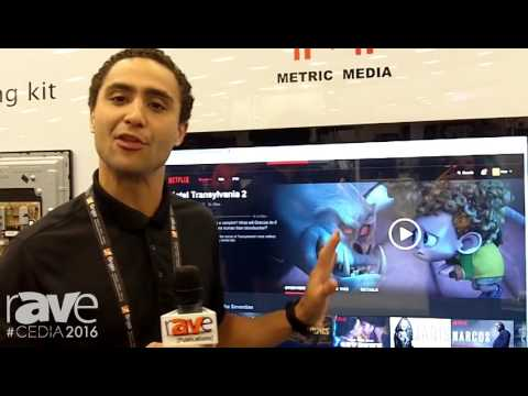 CEDIA 2016: Metric Media Demos Touch Screen Units With Glass Touch