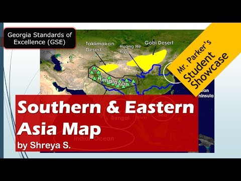 Southern & Eastern Asia Maps GSE