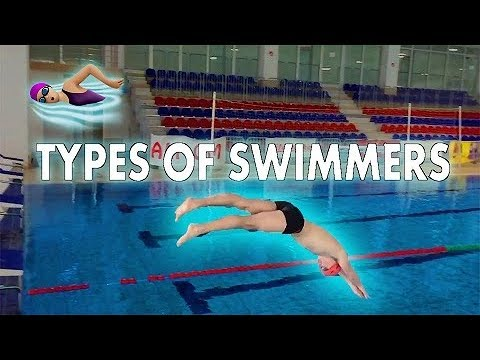 TYPES OF SWIMMERS!