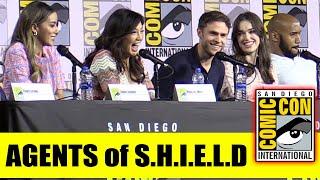 MARVEL's AGENTS of SHIELD | Comic Con 2019 Full Panel (Clark Gregg, Ming-Na Wen, Chloe Bennet)