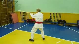 VID 20200124 205014Спец.упражнения: техника ударов одной палкой.