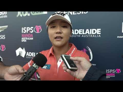 Lydia Ko after round three 2017 Women's Australian Open