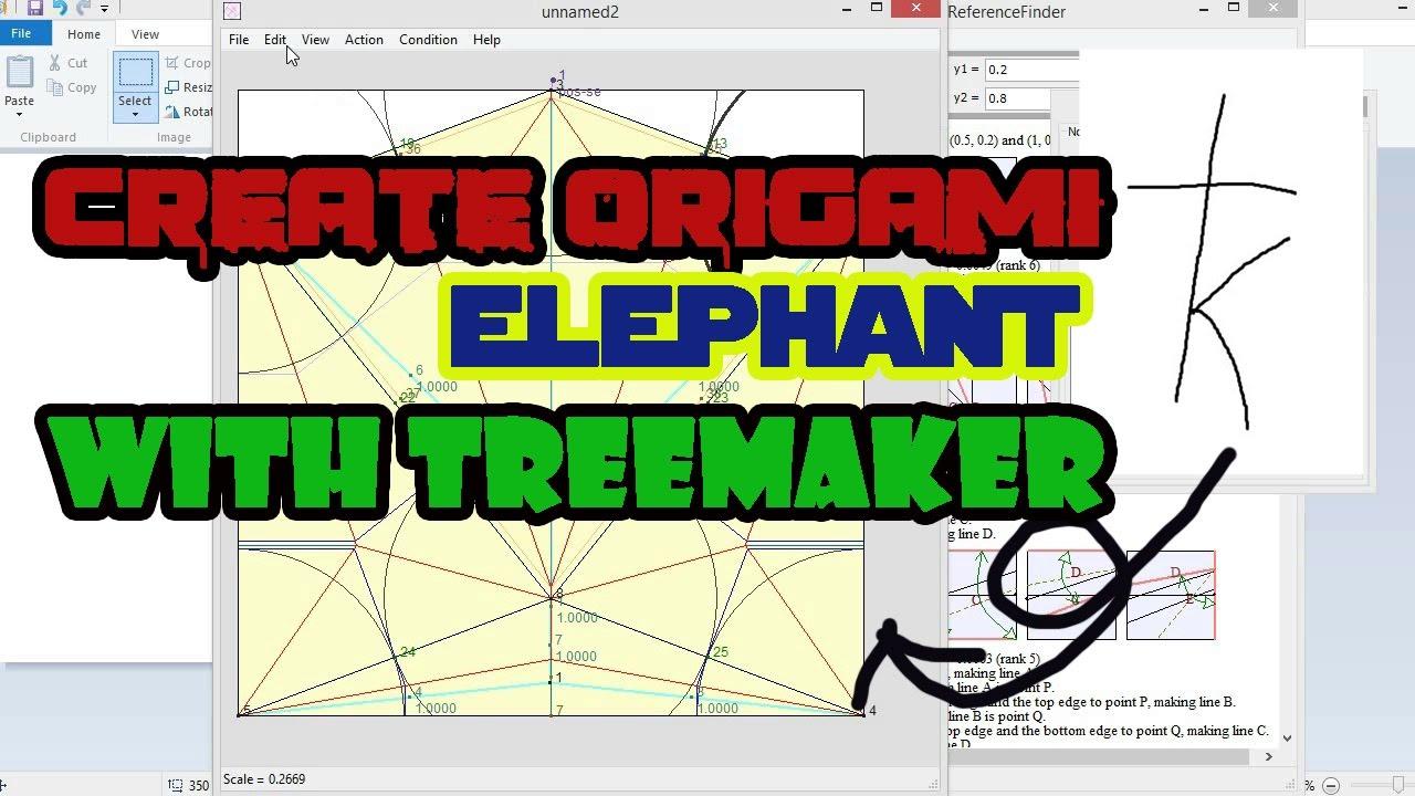 treemaker origami 28 images oragami origami treemaker