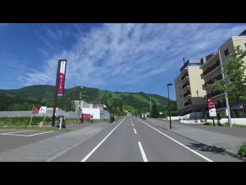 Summer in Niseko - A quick drive through the village.