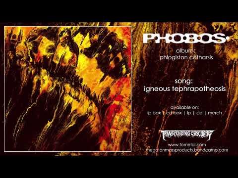 P.H.O.B.O.S. (France) - Igneous Tephrapotheosis (Industrial Black/Doom Metal)