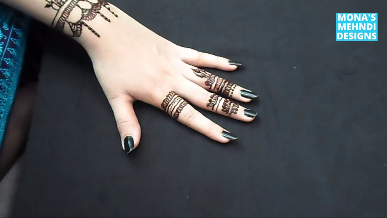Eid Styles | Wedding girls Mehandi design | Fingers stylish Girls ...