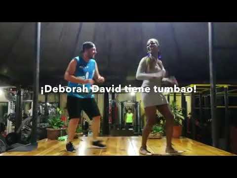 Deborah David en Antigua's Gym