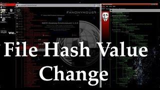 How to Change Flies Hash Value