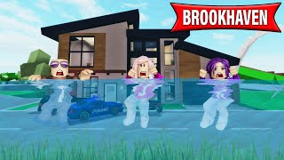 I time traveled to the future to save Brookhaven from a HUGE flood! | Roblox Roleplay