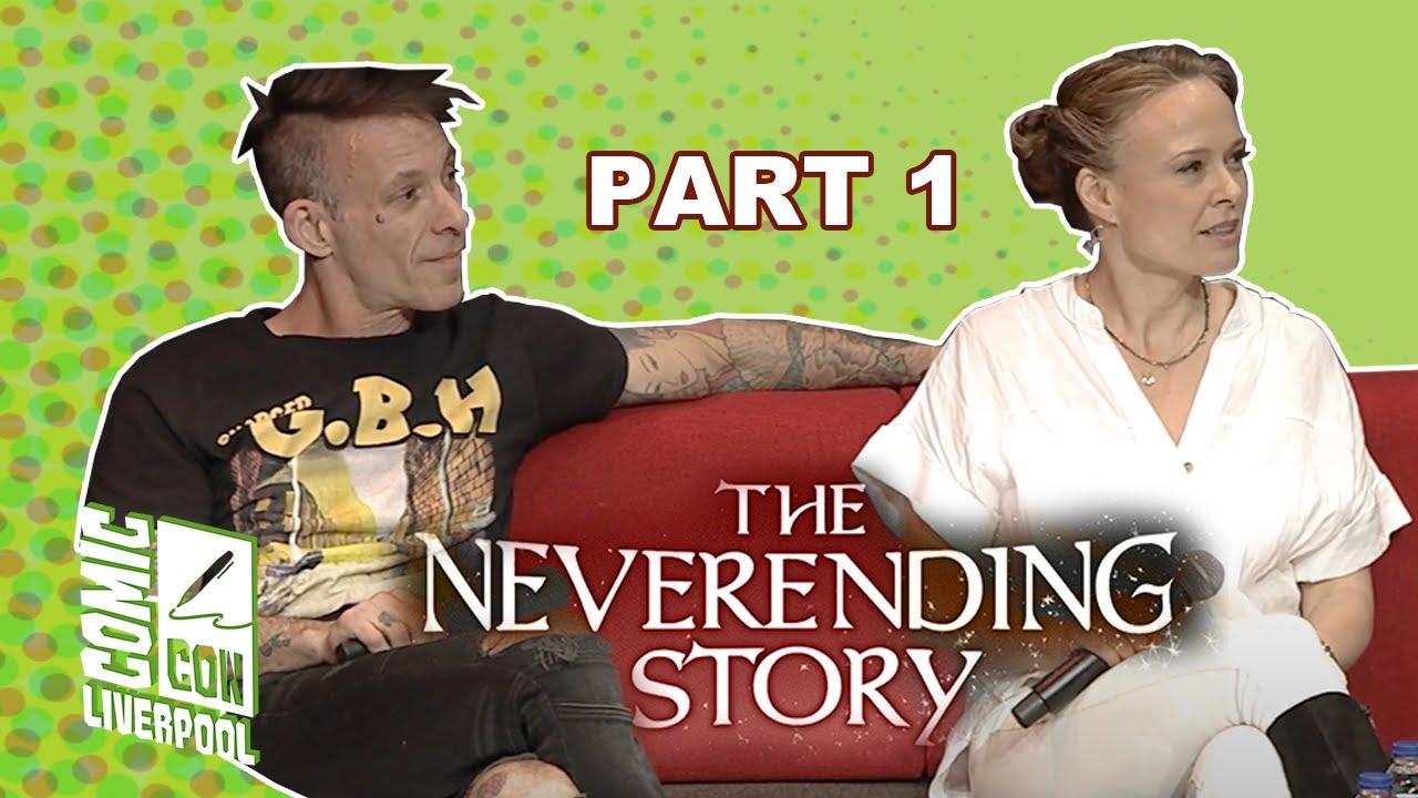 Neverending Story child actors Atreyu (Noah Hathaway) and The Child Like Empress (Tami Stronach)