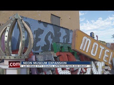 Las Vegas City Council approves grant for Neon Museum expansion