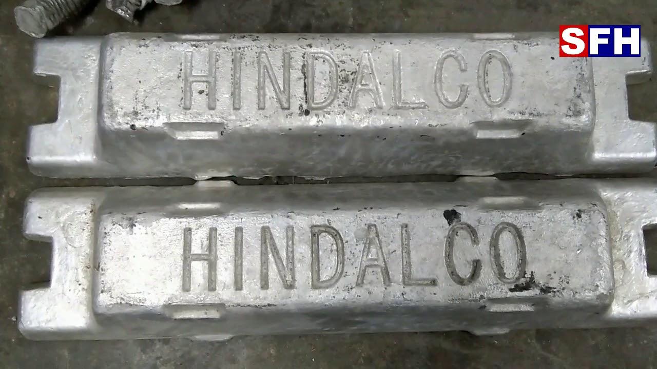 SuperFine Hindalco Ingots-Aluminium