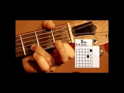How to Play Guitar Chords D Major D Minor D7 - YouTube