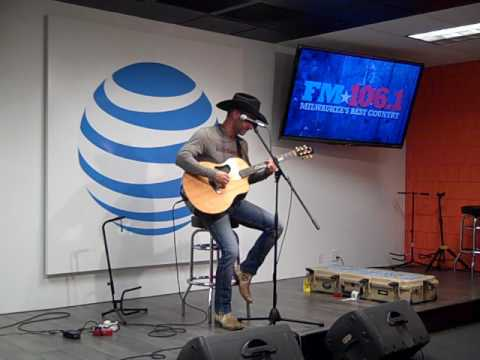 Craig Campbell  Outskirts of Heaven   in the FM1061 AT&T Access Granted Lounge 21617