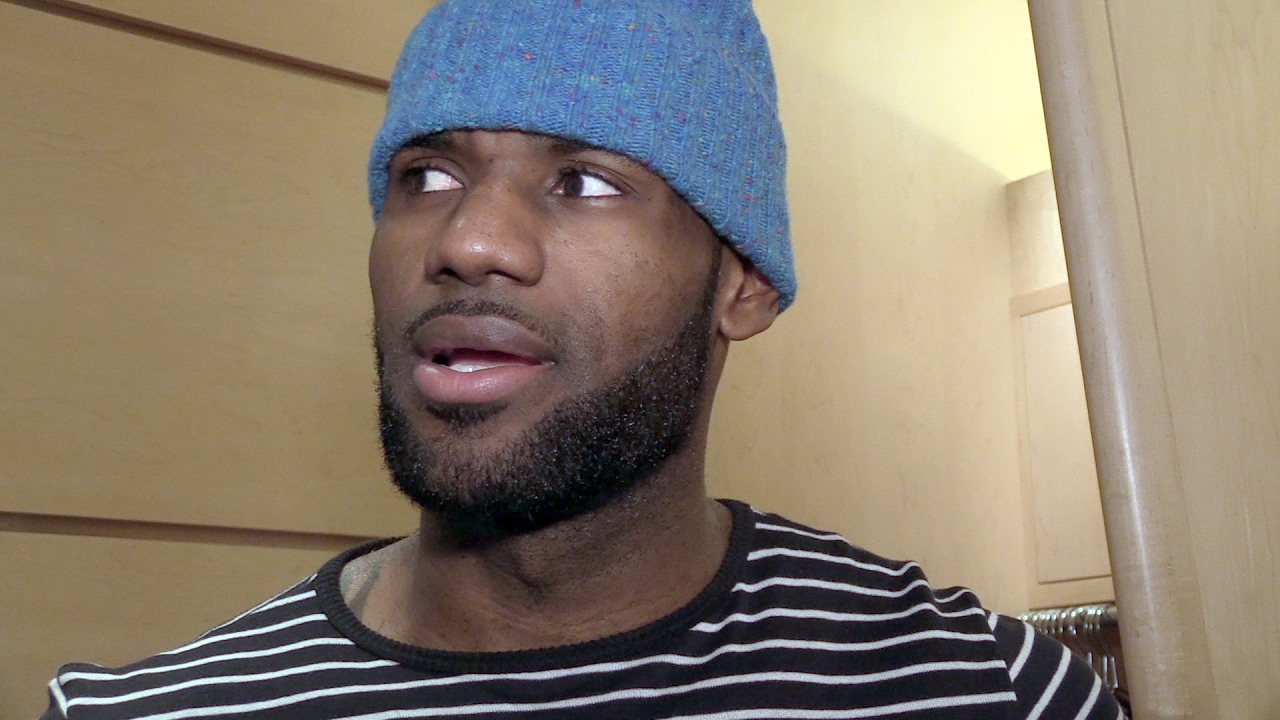 Cavs  LeBron James reacts to Charles Barkley s comments about competing -  YouTube 7217a53a990