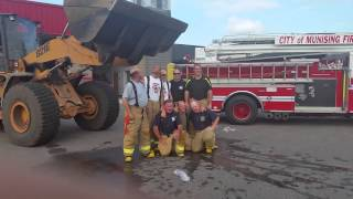 Munising Fire Department ALS Ice Bucket Challenge