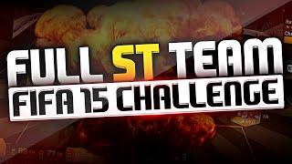 FIFA 15 | FULL STRIKER TEAM CHALLENGE! Thumbnail