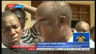 Afisa mmoja Kisumu alimchapa na kunjeruhi mwanamme mmoja kabla ya kumtia mbaroni.