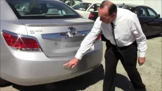 2011 Buick LaCrosse CXL Sedan -- The Warehouse Cars