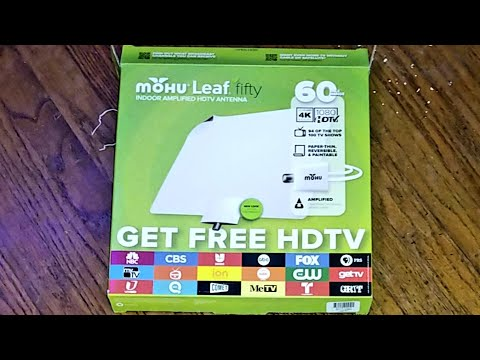 ( HONEST REVIEW ) MOHU Leaf Fifty Indoor HDTV Antenna