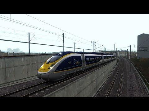 Train Simulator 2019 - De Londres St-Pancras à Ebbsfleet En Eurostar E320