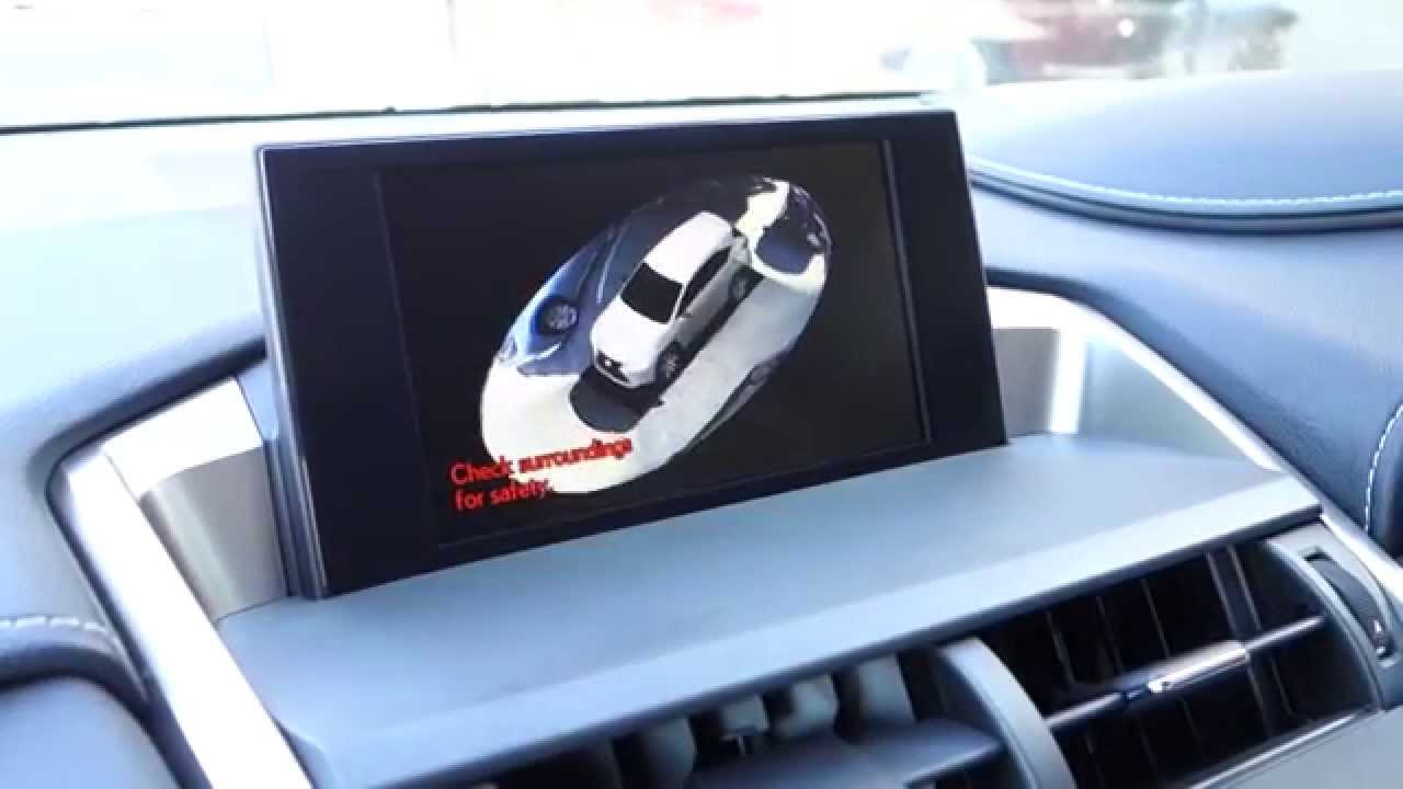 New Lexus Rx >> 2014 Lexus NX 360° Panoramic Surround View Camera - YouTube