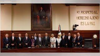 Cuatro ministros buscan presidir la Suprema Corte