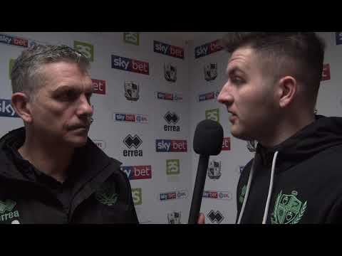 John Askey disappointed to be held to a draw by Salford