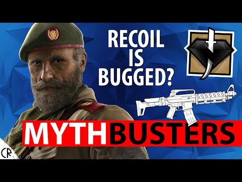 Kaid's Recoil is Bugged? - Mythbuster - Wind Bastion - Busting Rainbow Six Siege - R6