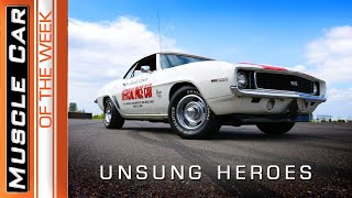 Unsung Heroes, Trans AM, Camaro, Belvedere Hemi, Cuda, Corvette - Muscle Car Of The Week #359