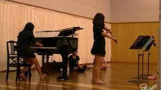 2012.9.29 トヤマパフォーミングアーツ 出演前のリハ.