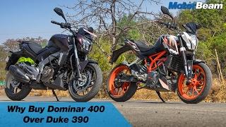 5 Reasons To Buy Dominar 400 Over Ktm Duke 390   Motorbeam