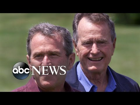 George W. Bush to eulogize father